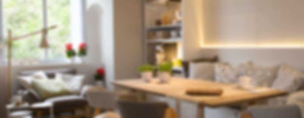 5 Idee per Piccole e Moderne Sale da Pranzo