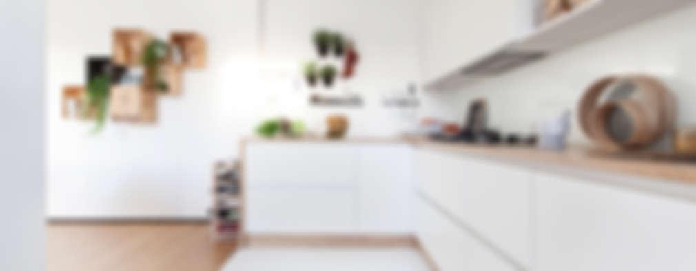 Cocinas de estilo minimalista por Didonè Comacchio Architects