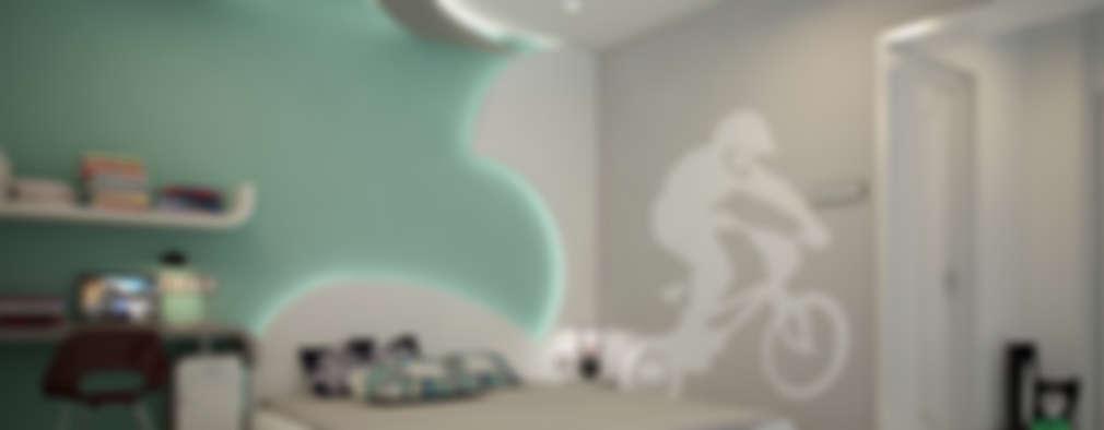 Boy's Bedroom: modern Bedroom by Premdas Krishna