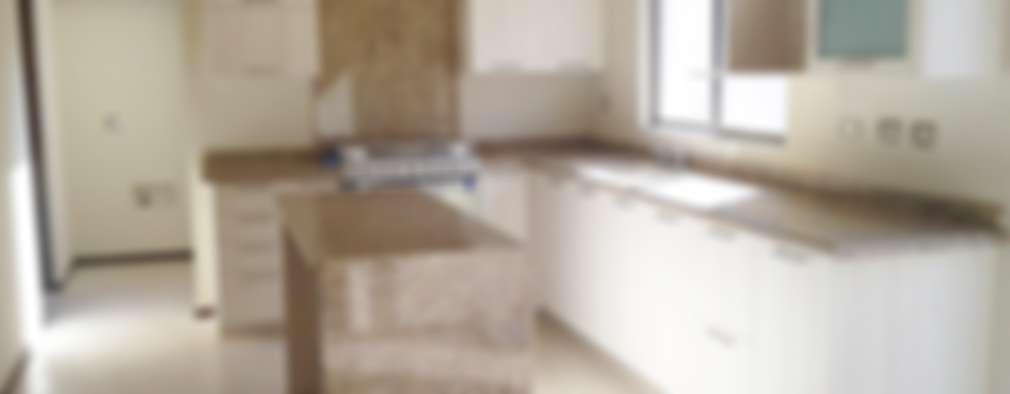 H-abitat Diseño & Interiores : modern tarz Mutfak