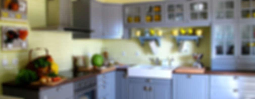 Cocinas de estilo rural por Rafaela Fraga Brás Design de Interiores & Homestyling