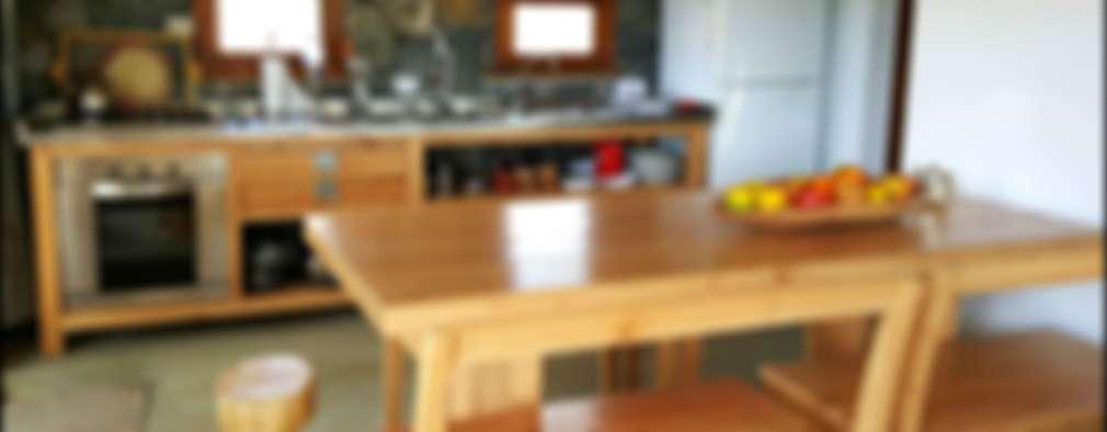 8 desayunadores rústicos que quedarán increíbles en tu cocina