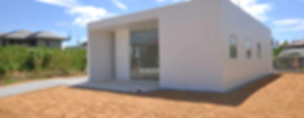 moderne Häuser von 門一級建築士事務所