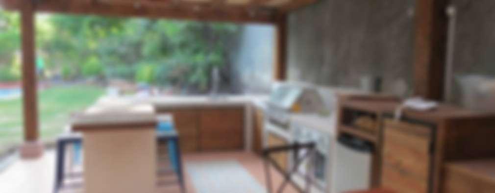 Costruire una veranda con barbecue in giardino missione for Idee di veranda laterale
