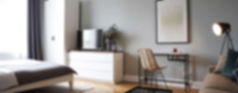 غرفة المعيشة تنفيذ Studio Uwe Gaertner Interior Design & Photography