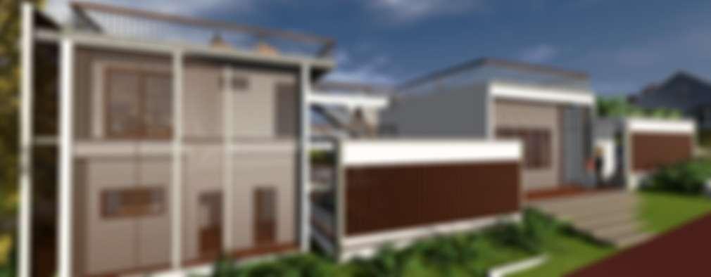 Casa-0 - Bloco íntimo e lazer:   por Danyel Iglesias Lopes Arquitetura