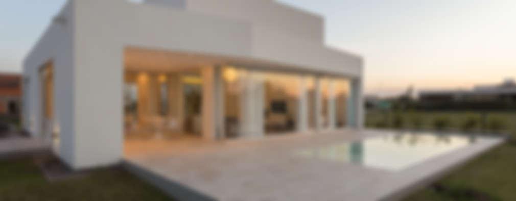 5 casitas modernas con sus planos de construcci n for Idee di piano di garage