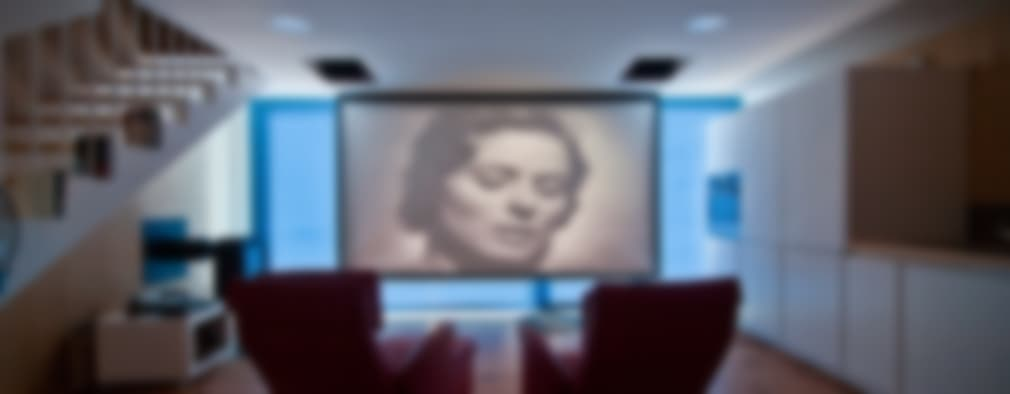 Salas multimedia de estilo moderno por MapOut