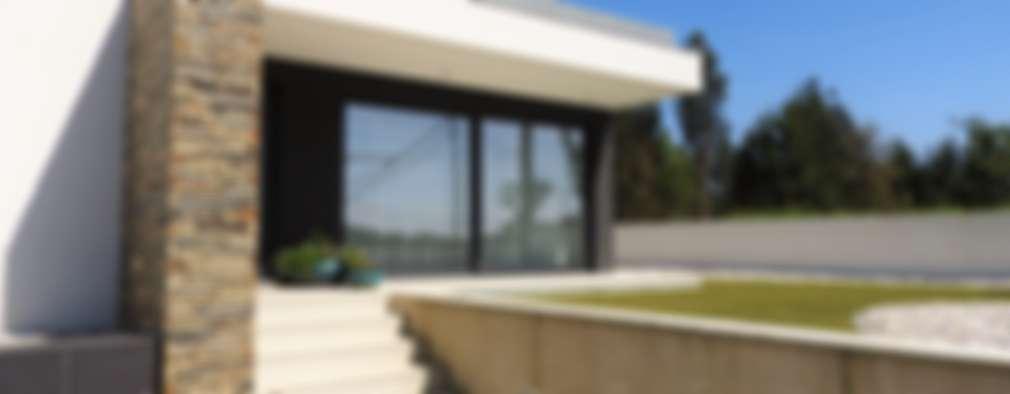 Casas de estilo moderno por Jesus Correia Arquitecto