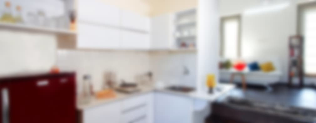 The Kitchenette : minimalistic Kitchen by Urban Shaastra