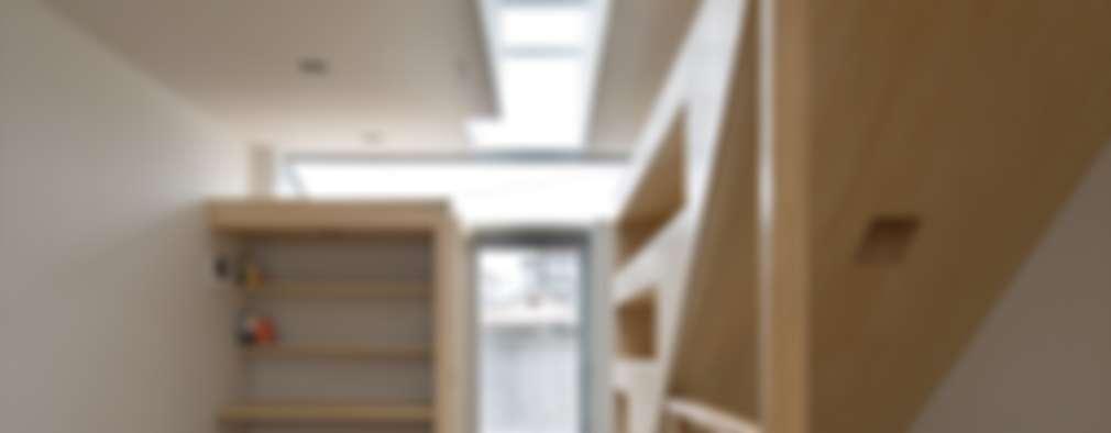 Corridor, hallway by 藤原・室 建築設計事務所
