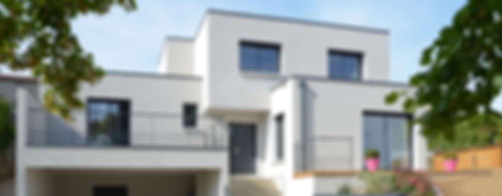 Projekty, nowoczesne Domy zaprojektowane przez Pierre Bernard Création
