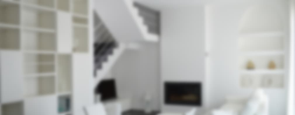 Salas / recibidores de estilo moderno por Studio di Architettura Ortu Pillola e Associati