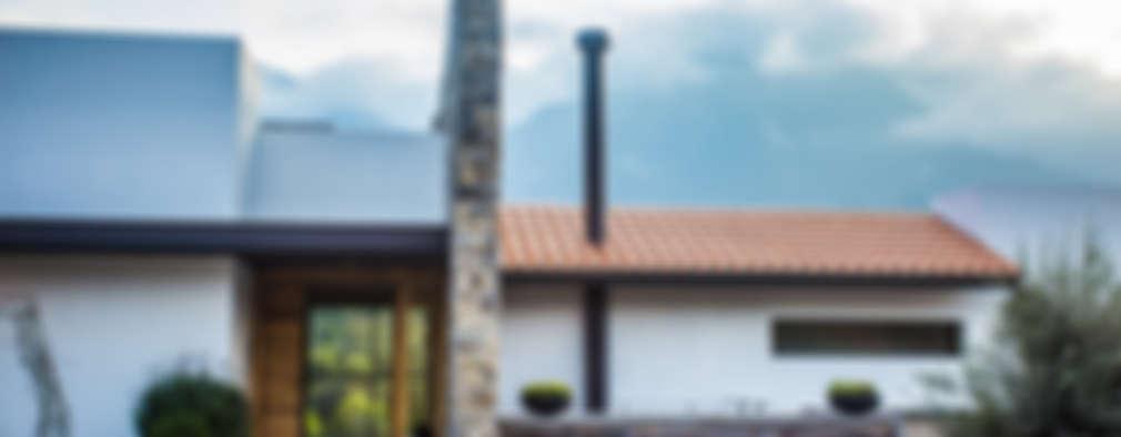 منازل تنفيذ ICAZBALCETA Arquitectura y Diseño