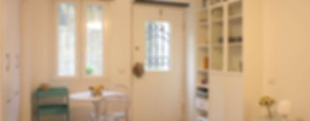 Salas de estilo ecléctico por studio ferlazzo natoli