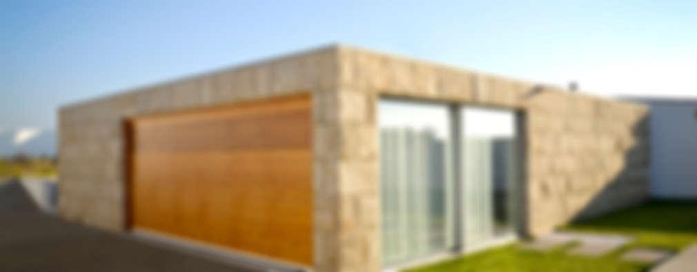 Garajes de estilo minimalista por PFS-arquitectura