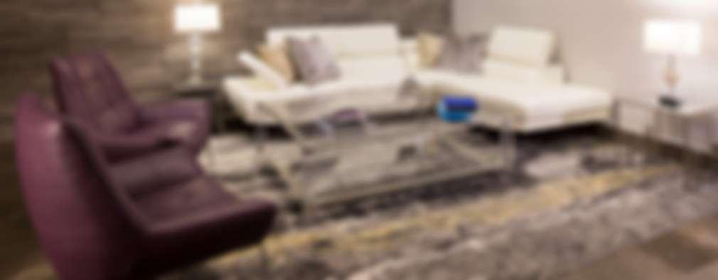 Sala: Salas de estilo rústico por URBN