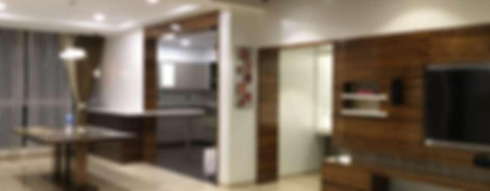 Projekty,  Salon zaprojektowane przez Studio Stimulus