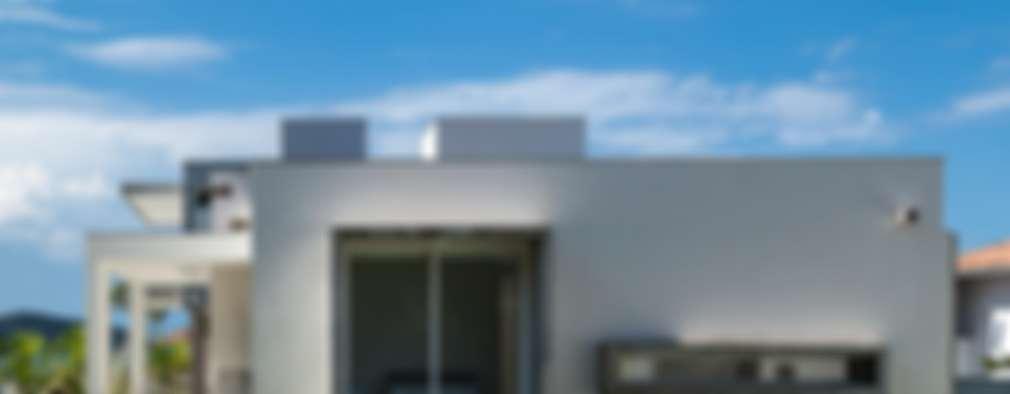 modern Houses by PJV Arquitetura