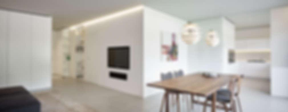 둘인 듯 하나인 공간. 주방과 식탁을 결합한 디자인 10