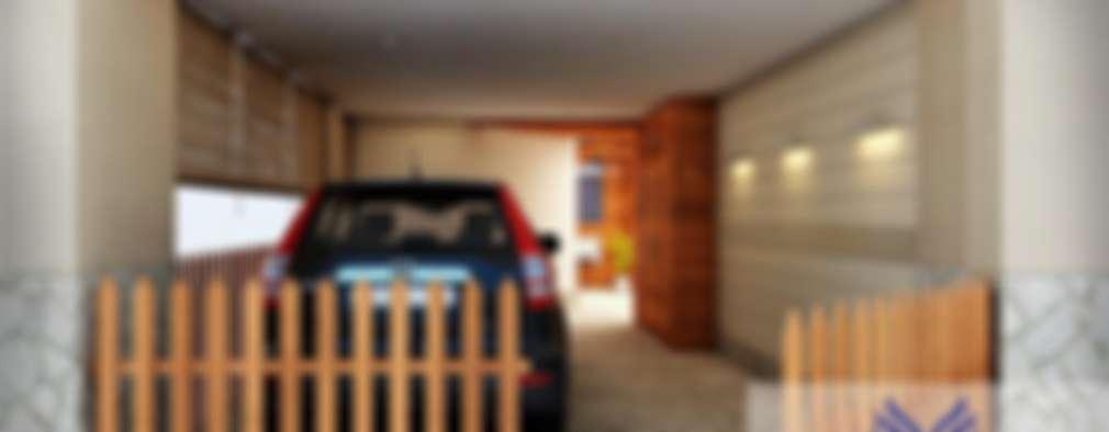 Interior design: modern Garage/shed by Eternity Designers