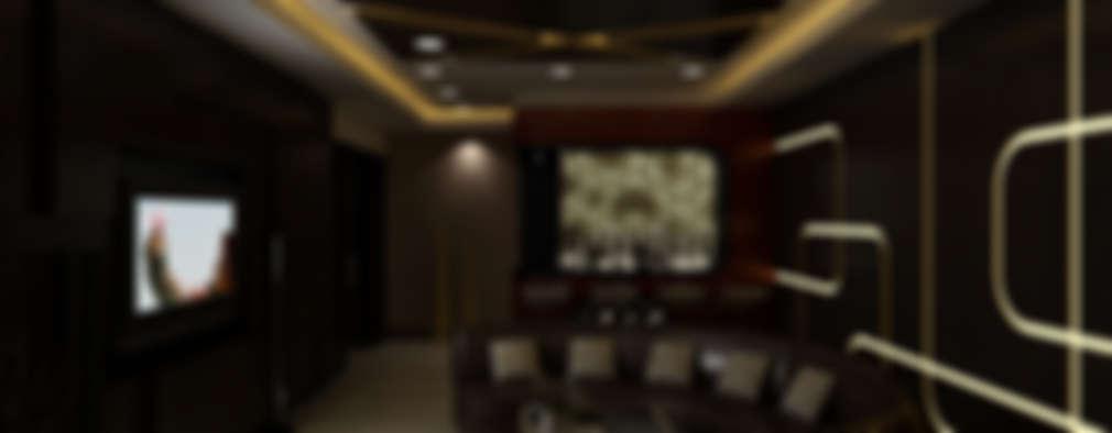 غرفة الميديا تنفيذ The Brick Studio