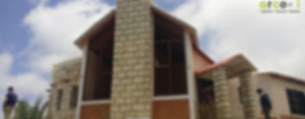 Cabaña de Descanso: Casas de estilo rústico por ARCO +I