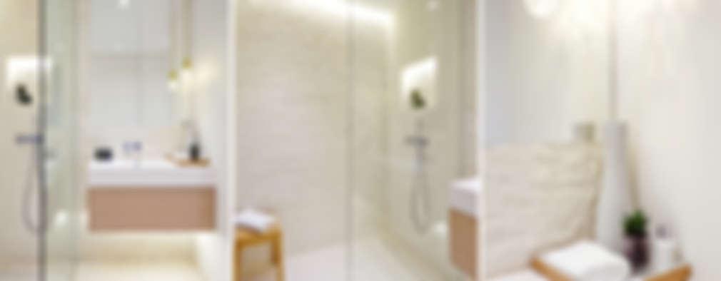 浴室 by Landmass London