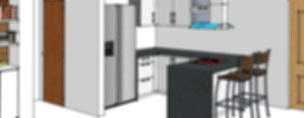 modern Kitchen by Remodelar Proyectos Integrales