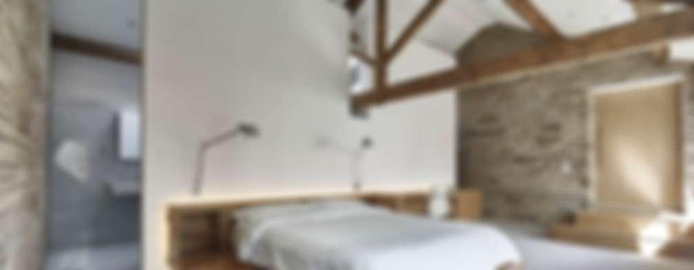 غرفة نوم تنفيذ Andrew Wallace Architects