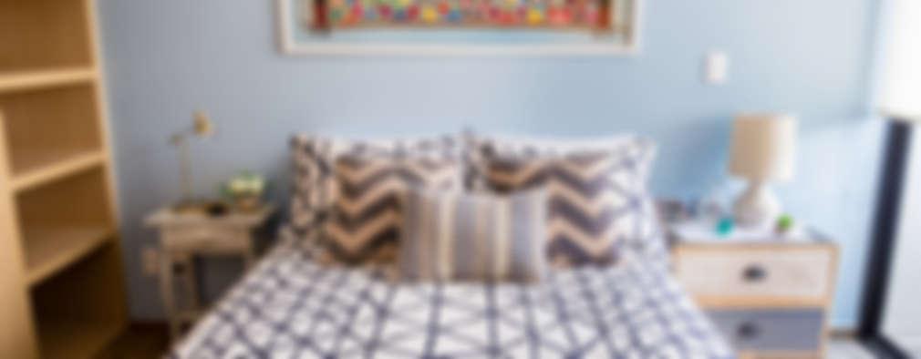 eclectic Bedroom by Erika Winters® Design