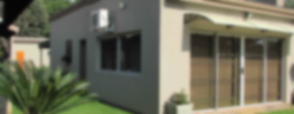Projekty, nowoczesne Domy zaprojektowane przez DG Construction