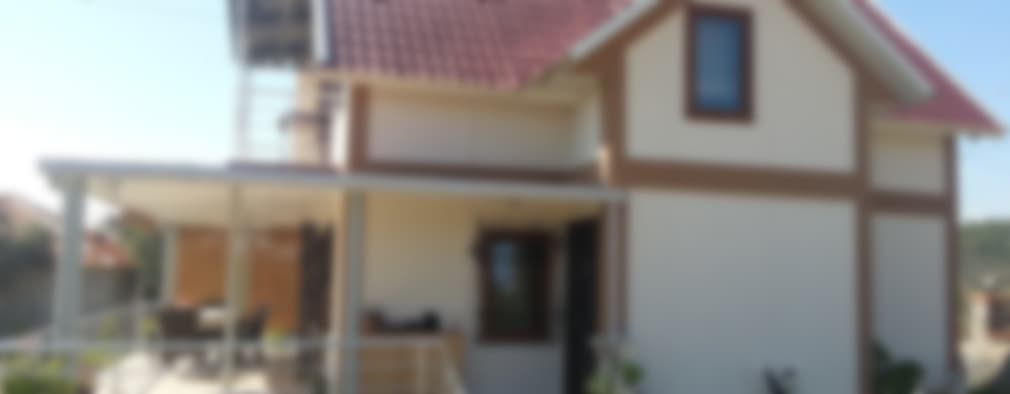 Casas de estilo moderno por TUNA PREFABRİK