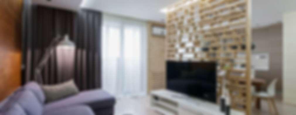 Salas de estilo moderno por EUGENE MESHCHERUK      architecture & interiors