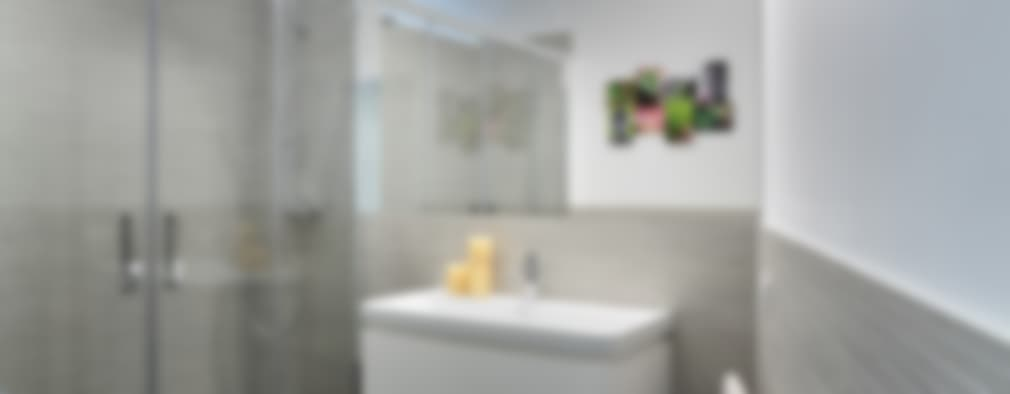 piccoli escamotage in 70 mq: Bagno in stile in stile Minimalista di studio ferlazzo natoli
