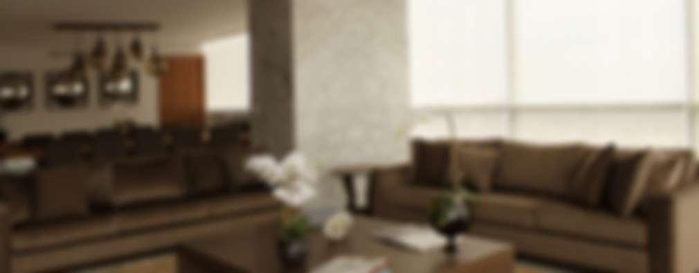 Livings de estilo moderno por Concepto Taller de Arquitectura