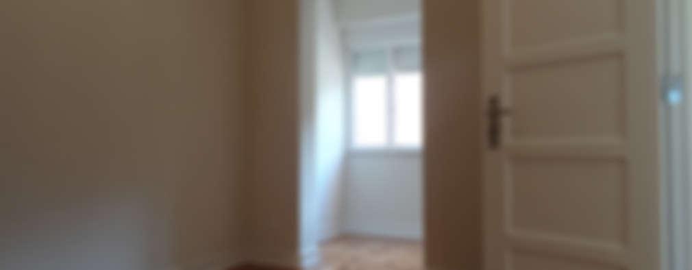 modern Bedroom by Happy Ideas At Home - Arquitetura e Remodelação de Interiores