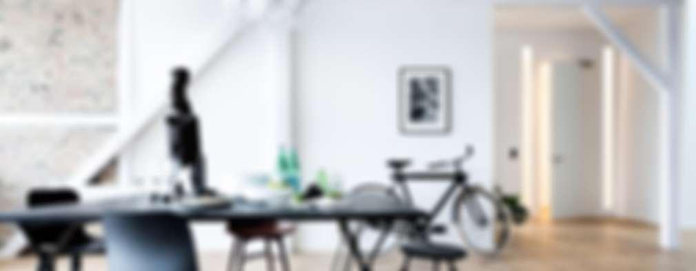 Comedores de estilo moderno por Design for Love
