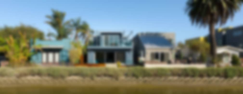 Casas de estilo moderno por Chibi Moku