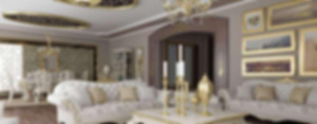 غرفة السفرة تنفيذ VERO CONCEPT MİMARLIK