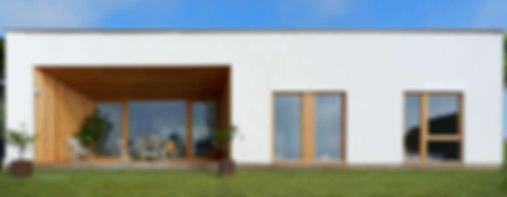 Casas de estilo moderno por Papik Cases Passives