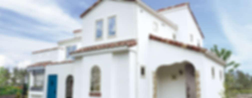 mediterranean Houses by 주식회사 인듀어홈 코리아