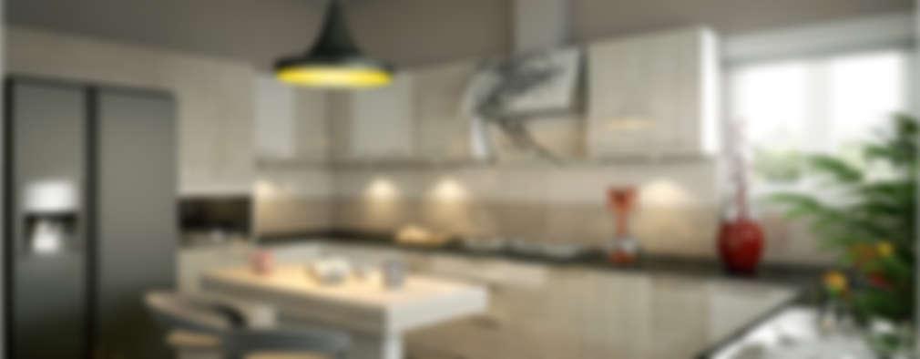 Interiors with Ultra Modern Designs: modern Kitchen by Premdas Krishna