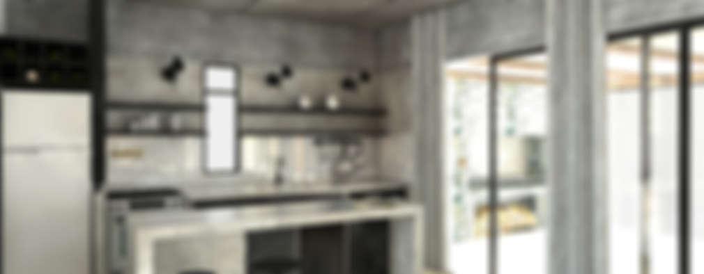 Projekty,  Kuchnia zaprojektowane przez FAARQ - Facundo Arana Arquitecto & asoc.