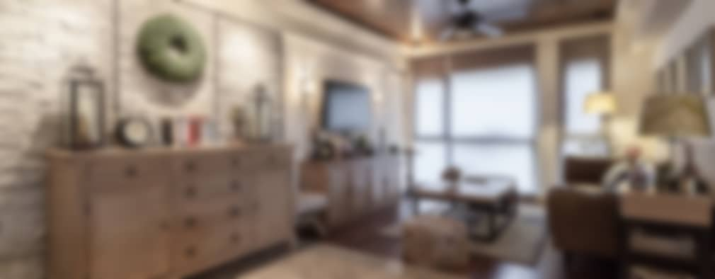 غرفة المعيشة تنفيذ 大晴設計有限公司