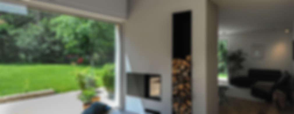 modern Living room by GRIMM ARCHITEKTEN BDA