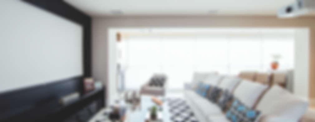 غرفة المعيشة تنفيذ Revellar Marcenaria
