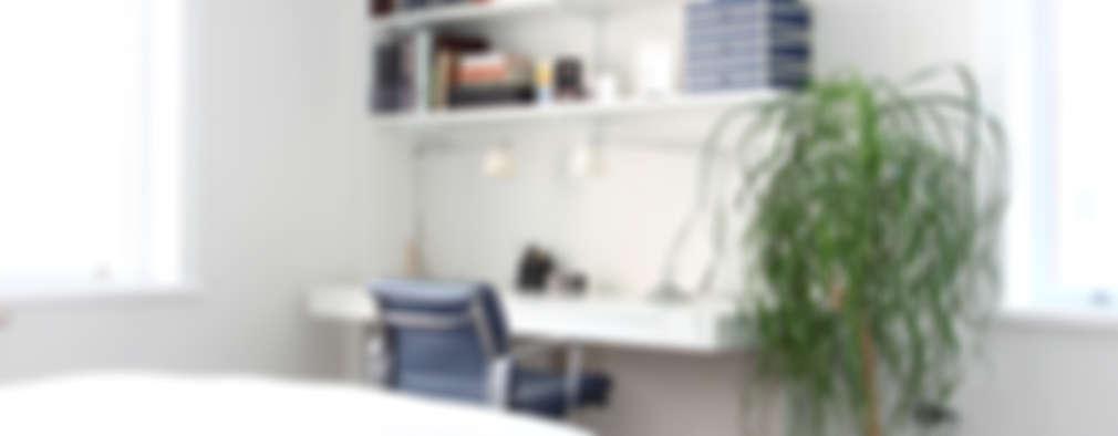 Recámaras de estilo moderno por Maletz Design