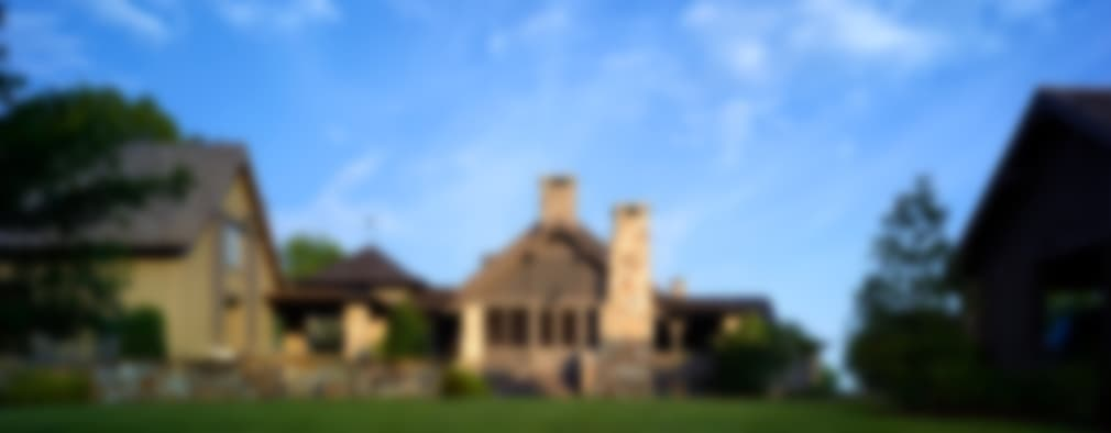 Casas de estilo rural por Jeffrey Dungan Architects