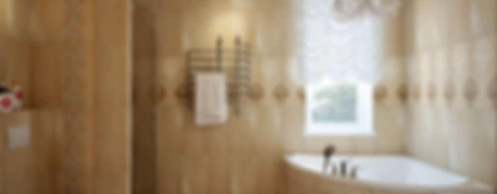 classic Bathroom by design studio by Mariya Rubleva